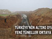 Türkiye'nin altını oyan yeni tüneller ortaya çıktı!