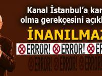 Kılıçdaroğlu, Kanal İstanbul'a karşı olma gerekçesini açıkladı; İnanamayacaksınız!
