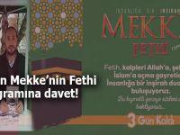 AGD'den 31 Aralık Mekke'nin Fethi programına davet!