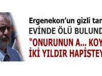 Ergenekon davasının gizli tanıklarından Ümit Sayın evinde ölü bulundu!