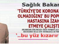 """""""Türkiye'de koronavirüs"""" yalanını yaymaya çalışan Yarkadaş'ı sonunda Sağlık Bakanı iknâ etti!"""