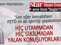 """Ersoy Dede, 4 sene önce """"bugün""""ü yazmış, yine """"faturayı"""" Erdoğan'a kesmeye çalışmışlar!"""