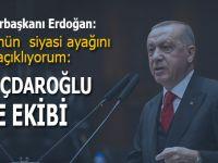 """Erdoğan: """"Devleti FETÖ'den temizleme çalışmalarımızın hepsinde karşımızda hep CHP ve Kılıçdaroğlu'nu bulduk"""""""