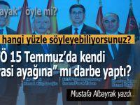 """Mustafa Albayrak: """"Hangi yüzle söylüyorsunuz, 15 Temmuz'da FETÖ kendi siyasi ayağına mı darbe yaptı?"""""""