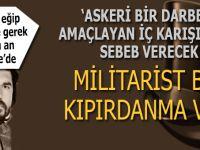 """Kütahyalı: """"Şu an Türkiye'de askeri darbeyi amaçlayan militarist bir kıpırdanma var..."""""""
