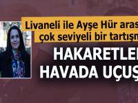 """Zülfü Livaneli ile Ayşe Hür arasında """"Atatürk ve Kürt"""" meselesinden çıkan tartışmada; Hakaretler havada uçuştu!"""