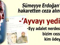 """Orhan Aydın, Sümeyye Erdoğan'a hakaretten ceza alınca, """"adalet aramaya""""(!) başladı!"""