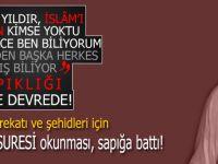 Mustafa İslamoğlu İdlib harekatı için 'Fetih Suresi' okunmasından rahatsız oldu!