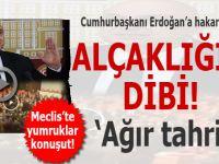 Alçaklığın dibi; CHP'li Özkoç'tan Cumhurbaşkanı Erdoğan'a ağır hakaret!