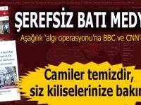 Şerefsiz Batı medyası; Koronavirüs haberlerini İstanbul ve cami fotoğraflarıyla servis etti!