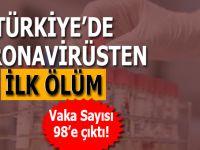 Türkiye'de Koronavirüsten ilk ölüm...