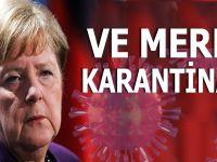 Ve Merkel karantinada!