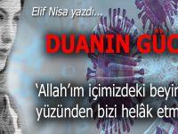 """Elif Nisa yazdı; """"Allah'ım, içimizdeki beyinsizler yüzünden bizi helâk etme"""""""