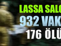 Bu da yeni salgın; Lassa,  932 vaka  176 ölü..