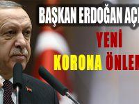 Cumhurbaşkanı Erdoğan 7 kritik kararı açıkladı.