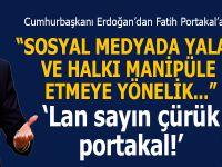 Cumhurbaşkanı Erdoğan'dan Fatih Portakal'a suç duyurusu!