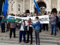 Beyazıt'ta Fransa ve Macron protesto edildi!