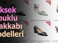 Yüksek Topuklu Ayakkabı Modelleri...
