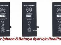Ucuz İphone 8 Batarya Fiyat İçin RealPower!