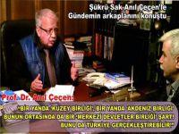 """Prof.Dr. Çeçen: """"Her kesimin bu tehlikeyi görmesi lazım!"""""""