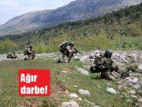 Mehmetçik'ten PKK'ya ağır darbe!
