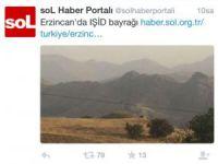 PKK medyası Fenerbahçe bayrağını IŞİD bayrağı diye haber yaptı!