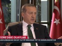 """Cumhurbaşkanı Erdoğan; """"O kapağı yapan şerefsizdir!"""""""
