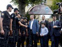 Erdoğan, polislerle bayramlaştı