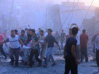 Rusya'nın Suriye'deki hava saldırılarında 25'i çocuk 104 sivil öldü