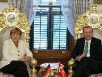 Cumhurbaşkanı Erdoğan Merkel ile 'fasıllar' ve 'mültecileri' görüştü
