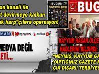 """Kayyum Av. Hasan Ölçer; Gazetecilerin görevinin """"hükümet devirmek olmadığını"""" fetullahın ajanlarına hatırlattı!"""