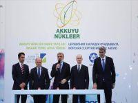 Nükleer santral temeli atıldı