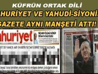 Cumhuriyet ve Yahudi-Siyonist gazete aynı manşeti attı!