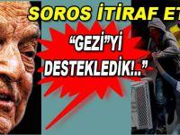 """Soros itiraf etti; """"Gezi'yi destekledik!"""""""