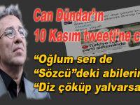 """Can Dündar'ın """"skandal"""" 10 Kasım tweetine cevab!"""