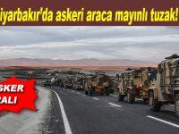 Diyarbakır'da askeri araca saldırı: 6 yaralı