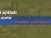 Cizre ve Silopi'de 11 terörist öldürüldü