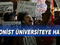 ABD'li öğrencilerden 'Siyonist üniversite'ye isyan