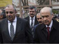 Bahçeli ve Türkeş Mecliste karşılaştılar!