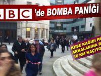 BBC'de bomba paniği, bina boşaltılıyor!