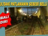Bayrampaşa-metrodaki patlamanın nedeni belli oldu; Bombalı saldırı!