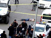 Diyarbakır'da kadın teröristin öldürülmesi kameralara böyle yansıdı!