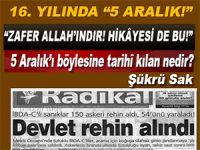 """5 Aralık; """"Zafer Allah'ındır!.. Hikâyesi de bu!.."""""""
