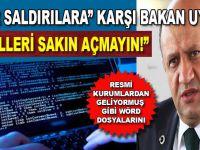 Bakan Işık'tan çok önemli siber saldırı uyarısı!