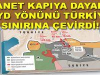 """İhanet Türkiye """"sınırına"""" dayandı!"""