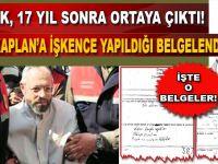 Metin Kaplan'a yapılan işkencenin belgeleri ortaya çıktı!