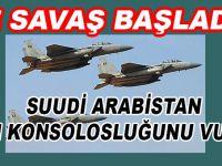 Savaş başladı; Suud Sana'daki İran konsolosluğunu vurdu