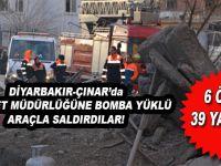 Diyarbakır'da hain saldırı; 6 ölü 39 yaralı!