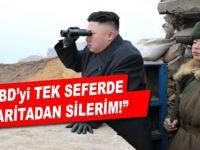 Kim: ABD'yi tek seferde haritadan silerim