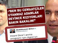 """Nedim Şener, Fetullahçı gazetecinin """"takıyyeci"""" tavrına sert tepki gösterdi!"""